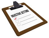 Objective Setting clipboard
