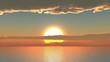 Sun sunset animation