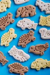 biscotti per cani a forma di animale