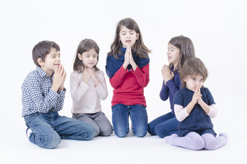 Children Pray