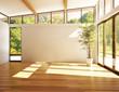 Leinwanddruck Bild - Modern interior room