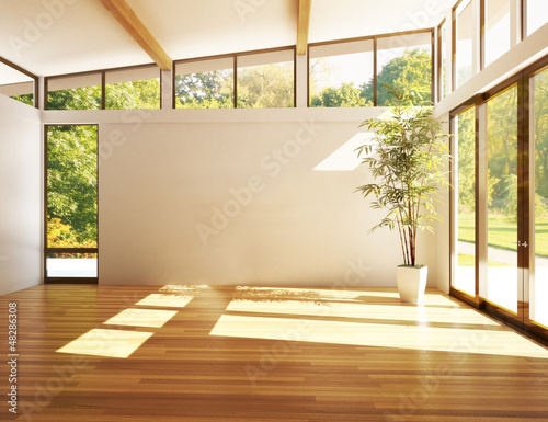 Leinwanddruck Bild Modern interior room