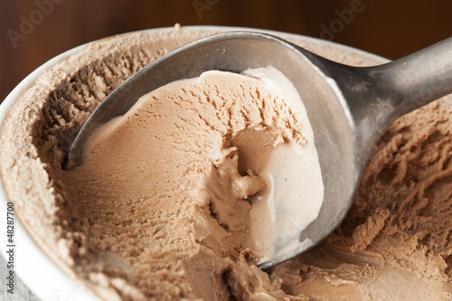 Cold Organic ice Cream