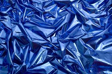 fodo azul arrugado