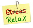 Stress Relax Post-It  #130107-svg01