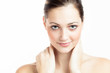Beautiful Girl Face. Spa Woman. Perfect Skin. Skincare.