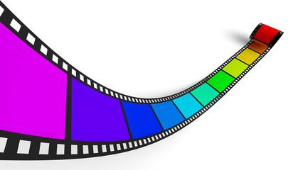 3D Regenbogen Filmstreifen 2
