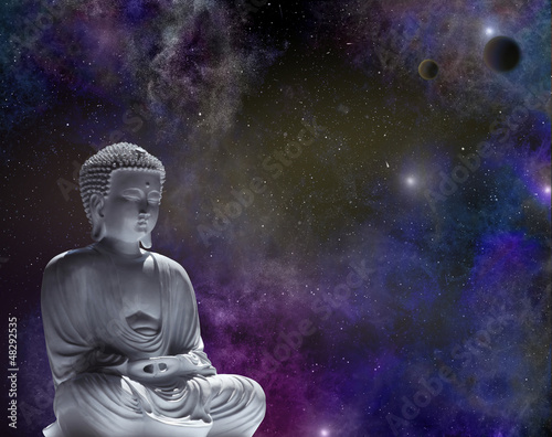 Fototapeten,buddhas,kosmos,outer space,stern