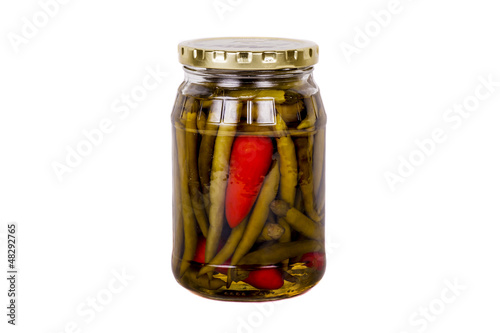 Jar of Pickled Peppers