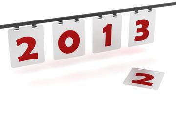 Simple  2012 to  2013 calendar