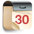 Calendar Date icon, vector Eps10 illustration.