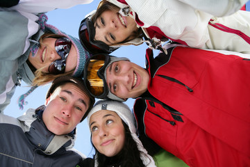 friends at ski