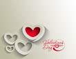 valentine's day  red color heart