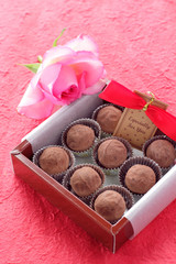 バレンタインデーのチョコレート
