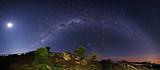 Voie lactée depuis les hauteurs de la Réunion - 48297546