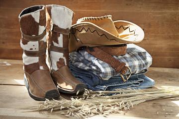 Cowboy Still life