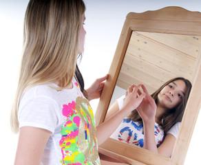 Falsches Spiegelbild