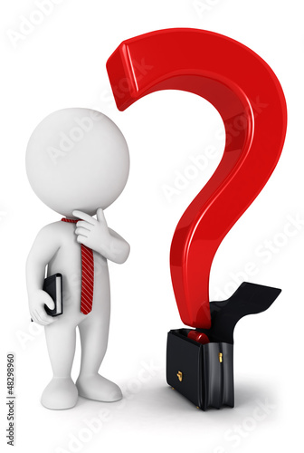 3d white people business question