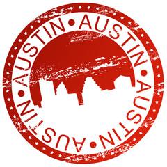 Stamp - Austin, USA