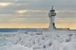 Leinwanddruck Bild - lighthouse island of rügen
