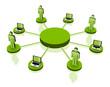 vector Business team Network