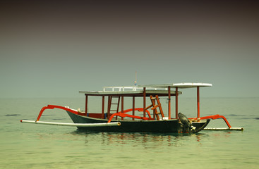 barque indonésienne