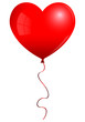 Beautiful Red Heart Balloon