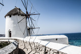 Windmills of Mykonos (Greece, Cyclades)