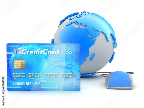 Credit card payment - concept illustration