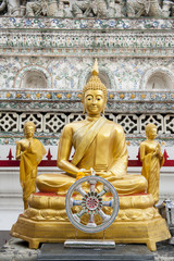 Golden Buddha ornament