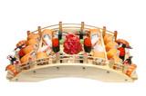 Fototapete Exotisch - Wraps - Vorspeise / Salat