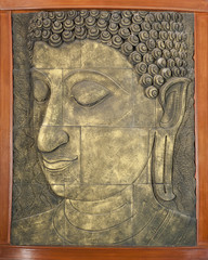 Buddha door panel