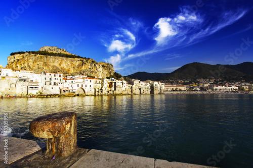 Cefalu, Sicily, Italy.