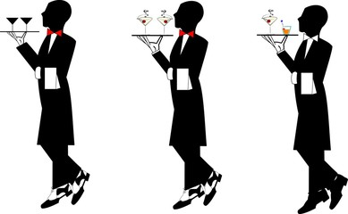 waiters in formal attire