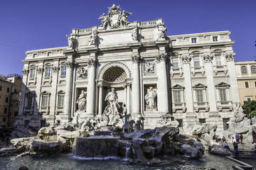 Roma- Fontana di Trevi