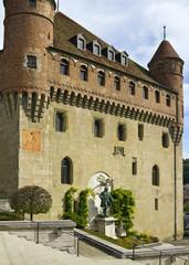 Place de La Chateau of Lausanne