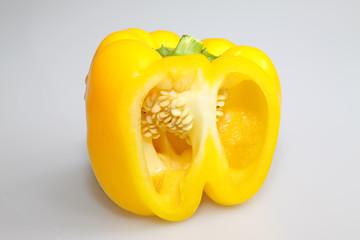closeup of color chili