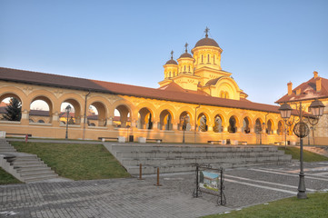 Coronation Cathedral, Alba Iulia fortress