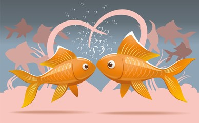Romantic fish