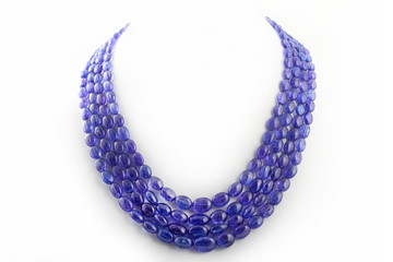 collana in tanzanite