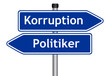 Korruption - Politiker