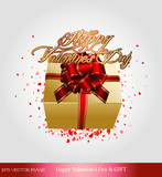 eps Vector image: Happy Valentine's Day & GIFT