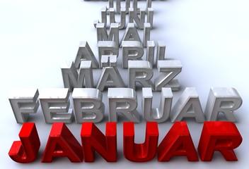januar - monatsstrahl