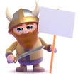 Viking protests working conditions