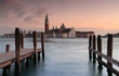 venetian landscape  at sunset