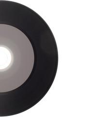 Empty Gramophone vinyl record