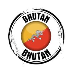 timbre Bhoutan