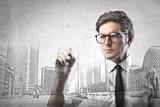 Fototapeta biznes - biznesmen - Mężczyzna