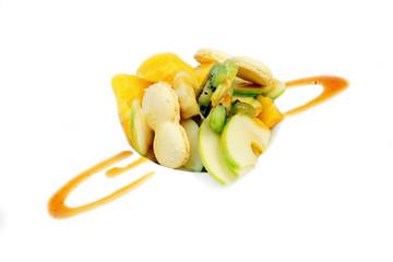 salade de fruits et macarons  # 30