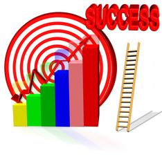 success aim chart goal